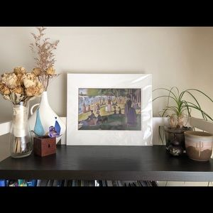 Large Matted Print-French Artist Georges Seurat